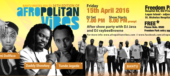 Afropolitan April - FB