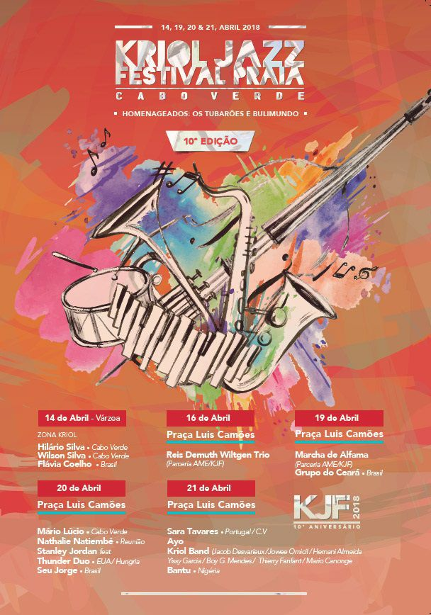 Kriol Jazz 2018 Poster